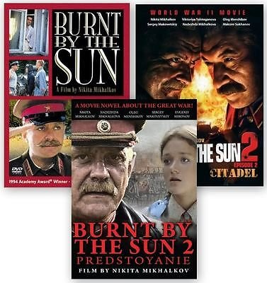 Burnt By The Sun Complete Collection (Trilogy) /3Dvd Ntsc With English Subtitles.Nikita Mikhalkov Movie