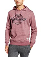 JACK & JONES Sudadera (Rosa)