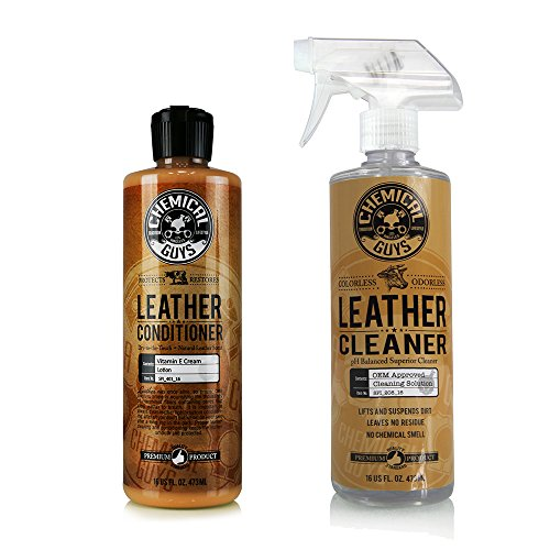 chemical-guys-spi-109-16-leather-cleaner-and-conditioner-complete-leather-care-kit-16-oz-2-items