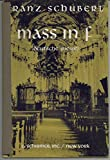 img - for Mass in F. (Deutsche Messe.) For four-part chorus of mixed voices with organ (or piano) accompaniment ... English translation and arrangement by John Dressler. English and German text book / textbook / text book