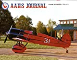 AAHS Journal: Travel Air Mystery Ship; on the Heels of War - Waterman Airlines Charter; Mcdonnell Douglas- Fokker Mdf- 100; Aircraft History of the Boeing 95; the Grumman Ea-6 Intruder