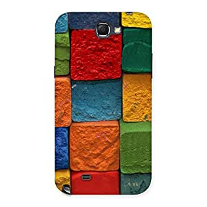 Gorgeous Color Cubes Multicolor Back Case Cover for Galaxy Note 2