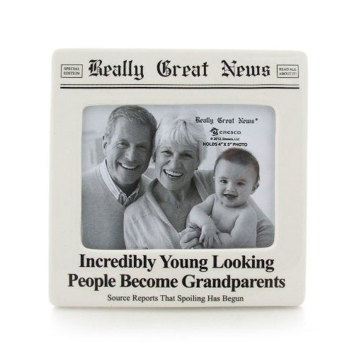 Enesco Really Great News By Lorrie Veasey Incredibly Young Photo Frame front-911591