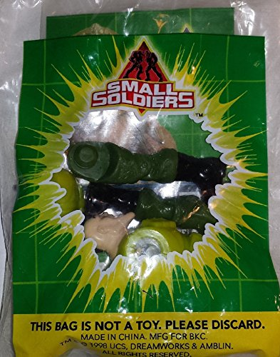 BURGER KING Kids Meal Toy - SMALL SOLDIERS COMMANDO ELITE: NICK NITRO [TOY] - 1