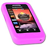 IGloo Flexible Soft Silicone Skin Case for Samsung S5230 Tocco Lite - Pink