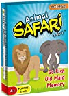 Animal Safari 3-in-1 Go Fish Old Maid Memory NEW RELEASE