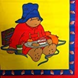 33cm x 33cm Paddington Bear Paper Napkins for Parties - Pack of 20