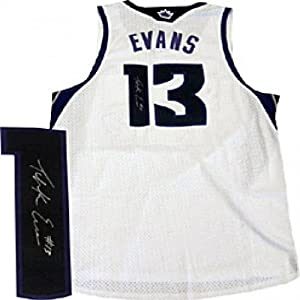 Tyreke Evans Autographed Signed Sacramento Kings White Jersey by Hollywood+Collectibles