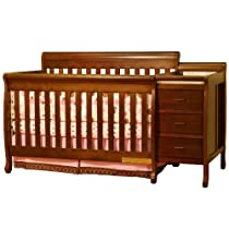 Big Sale Athena 2010 New Kimberly 4-in-1 Convertible Crib (Espresso) + Athena Coil Mattress