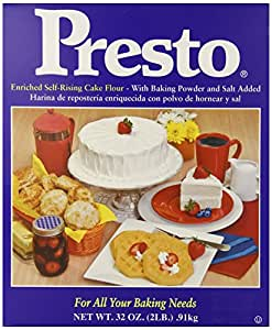 Presto  Self Rising Cake Flour, 32-Ounce Boxes (Pack of 6)