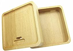 Generic Solid Wood Box Charging Charge Stand Dock Station for Apple Watch 38mm and 42mm All Models