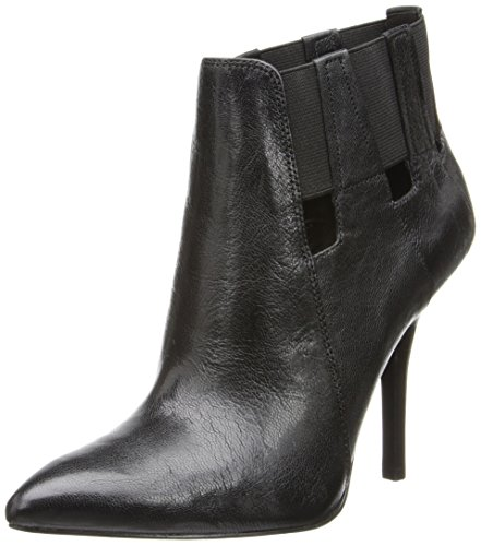 Nine West Women'S Julieanne Boot,Black/Black,7.5 M Us