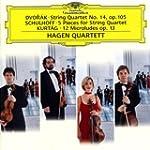 Quatuors de Dvorak, Schulhoff, Kurtag