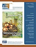 img - for The Retirement Management Journal: Vol. 4, No. 2, Academic Peer Review Committee Issue (Volume 4) book / textbook / text book