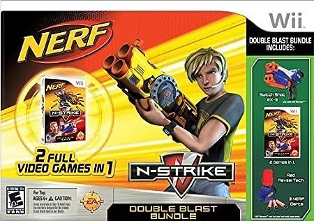 Wii Nerf N-Strike - Game Only