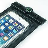 Amazon.co.jpAngelshopブランド JIS防水規格 IPX8取得!  【ブラック】iPhone6 Plus/iPhone 6/GALAXY note1~3/Xperia Z1~Z4/GALAXY S~S6など幅広く使用できます。 防水 防塵 撮影・操作可 JANコード習得済み商品【正規品】 (ブラック)