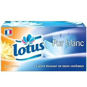 Lotus Resist Mouchoirs Boîtes x 120 Blanc Lot de 5