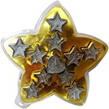Shree Hari Creations Starry Night Floating Paraffin Wax Candle Size: 5 Cm X 4.4 Cm X 2.4 Cm