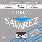 Savarez Strings 500AJ  Nylon Classical Guitar Strings, Medium