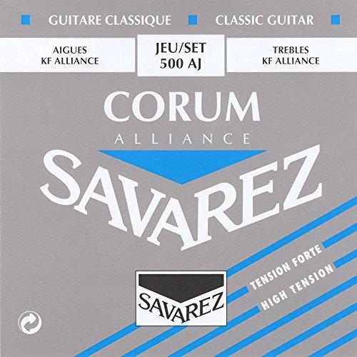 savarez-corum-alliance-500aj-high-tension-classical-guitar-strings