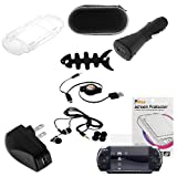 GTMax USB Rapid Car Charger + USB Home Travel Charger + Retractable USB Dat ....