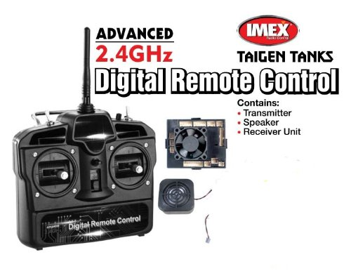 Advanced 2.4 Ghz Digital Remote Control Transmitter Speaker And Receiver Unit