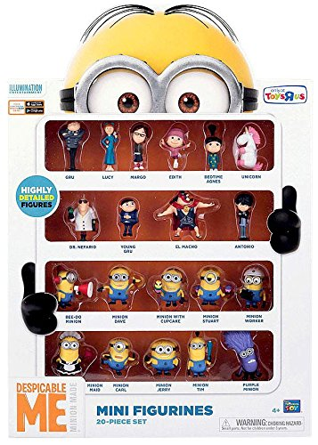 Despicable Me 2 2 Inch Mini Figure Set Mini Figurines 20-Piece Set