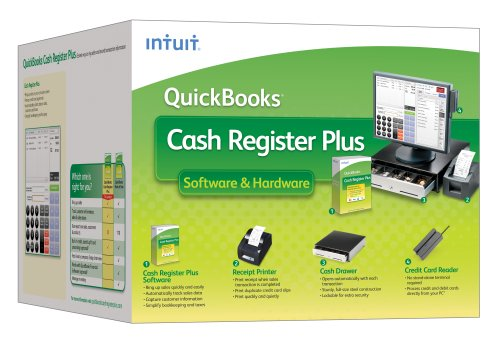 Intuit Cash Register Plus 2009  Hardware (No