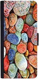 Snoogg Colourful Stonesdesigner Protective Flip Case Cover For Samsung Galaxy S3