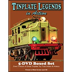 Tinplate Legends In Action 5 DVD Boxed Set
