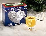 Christmas Moose Mug Punch Bowl Set with 2 Moose Mugs
