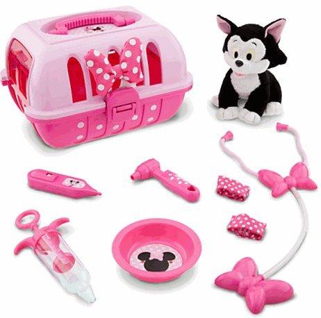Disney(ディズニー)Minnie Mouse Vet Care Set with Figaro Plush フィガロぬいぐるみとミニー・マウスの獣医ケアセット 【並行輸入品】