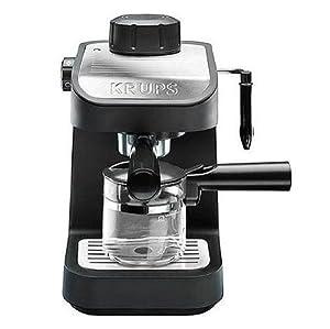 krups xp1020 750 watt steam espresso machine with 4 cup glass carafe home kitchen. Black Bedroom Furniture Sets. Home Design Ideas
