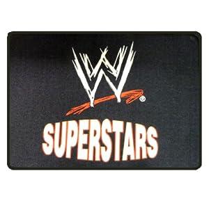 New Wwe Logo Wrestling Superstars Large Black Rectangular