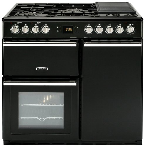 Leisure CMCF96K Dual Fuel Range Cooker Free Standing Black