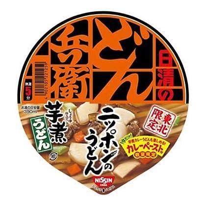 【東北限定】 日清食品 日清のどん兵衛 芋煮うどん 85g(めん66g) 12個入 1ケース
