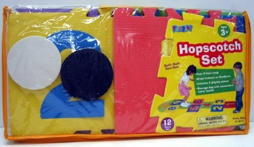 Buy Low Price Verdes Toys Hopscotch Mat Foam B001bx1ik6