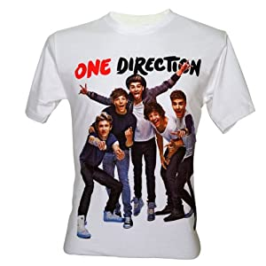 Lectrol Men's One Direction 1D Cute Boy Band T-Shirt V5