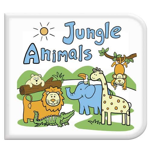 Jungle Animals Washable Coloring Book - 1