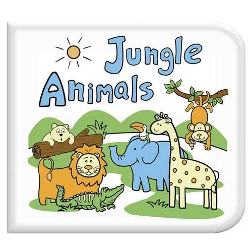 Jungle Animals Washable Coloring Book - 1