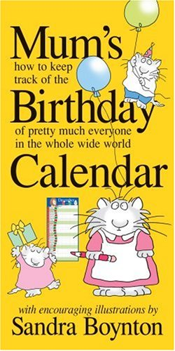 Mum's Birthday Calendar