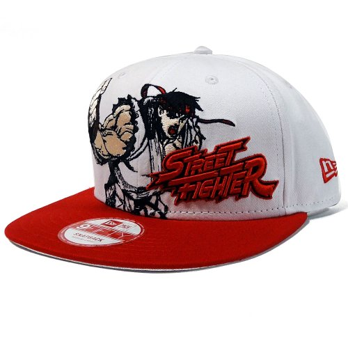 Street Fighter Ryu 9Fifty Heroic Stance Snapback Hat at Amazon Men's
