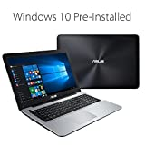 ASUS X555DA-WS11 15.6-inch Laptop (AMD Quad Core A10-8700P 1.8 GHz, Turbo to 3.2 GHz , 8GB GDDR3 RAM, 1000 GB Hard Drive, Windows 10), Dark Grey