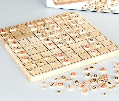 Cheap Fun Wood Sudoku Game (B002MHETII)