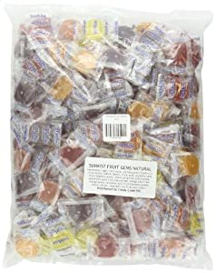 Sunkist Fruit Gems, 5-Pound Bag