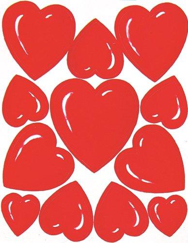 Eureka Valentine's Day Stickers, 36 Per Pack