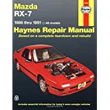 Mazda Rx-7 Automotive Repair Manual/1986 Thru 1991, All Models/No. 61036 (Haynes Repair Manuals (Paperback))