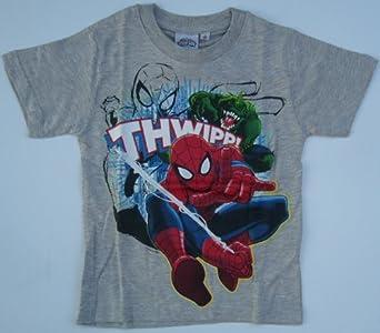 Spiderman T-Shirt in 3 Farben (98, grau)