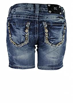 Miss Me Mid-Thigh Denim Shorts