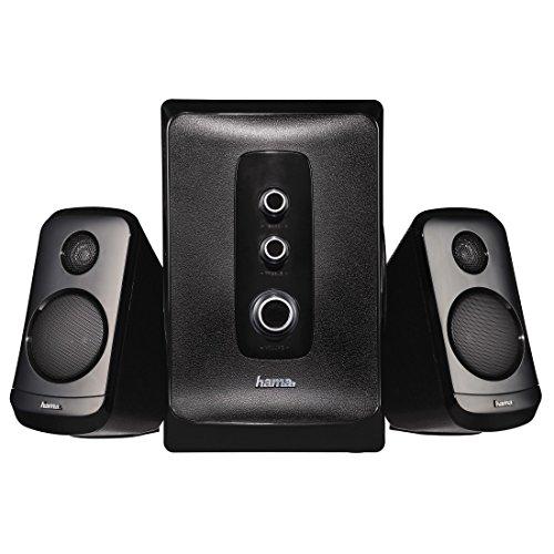 Hama-21-Lautsprechersystem-SPX5000-mit-Subwoofer-Hhen-und-Bassregler-geeignet-fr-PCTabletNotebookSmartphoneTV-mit-35mm-Anschluss